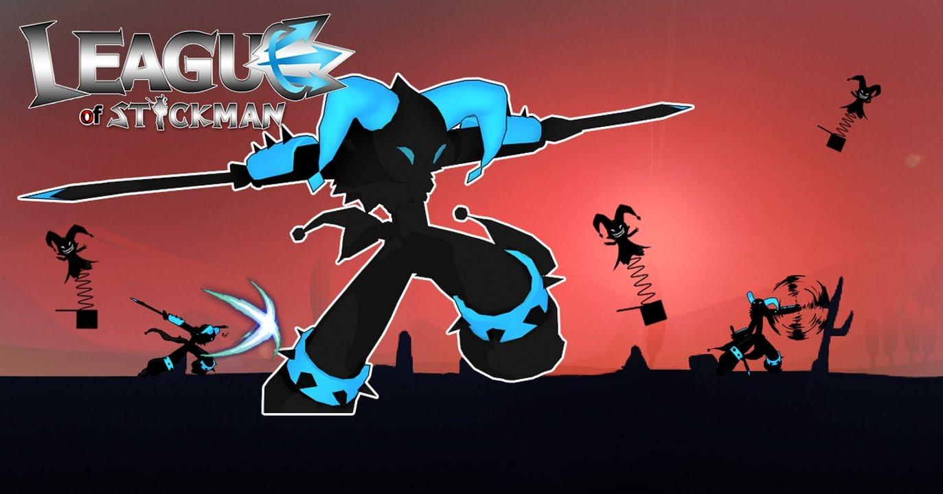 دانلود League of Stickman 5.3.1 بازی اکشن اتحاد استیکمن اندروید + مود