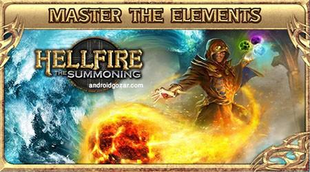 HellFire: The Summoning 5.3 دانلود بازی ماجراجویی آتش دوزخ+مود