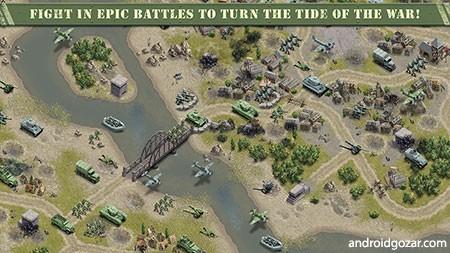 1944 Burning Bridges 1.1.0 دانلود بازی بزرگترین حمله نظامی جنگ جهانی دوم
