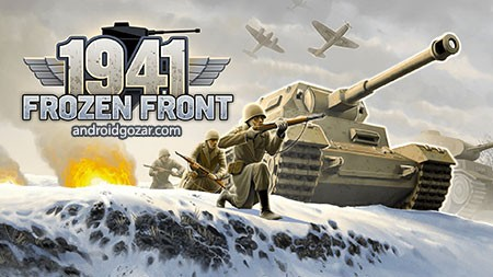 1941 Frozen Front Premium 1.12.1 دانلود بازی نظامی جبهه محکم اندروید + مود
