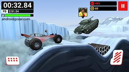 دانلود MMX Hill Dash 1.12348 – بازی صعود به تپه با ماشین و کامیون + مود