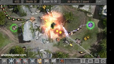 Defense Zone 2 HD 1.5.1 دانلود بازی منطقه دفاعی 2 +مود+دیتا