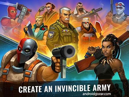 Army of Heroes 1.02.08 دانلود بازی استراتژیک ارتش قهرمانان