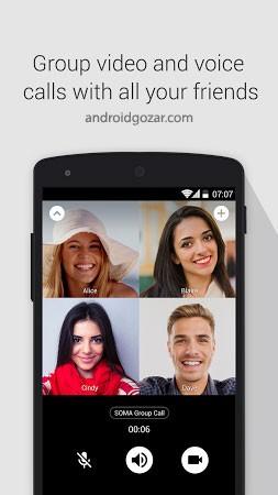 SOMA Messenger 1.4.0 دانلود سوما مسنجر امن ترین پیام رسان جهان