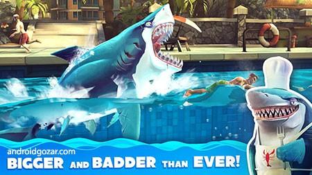 دانلود Hungry Shark World 4.2.0 بازی دنیای کوسه گرسنه اندروید + مود