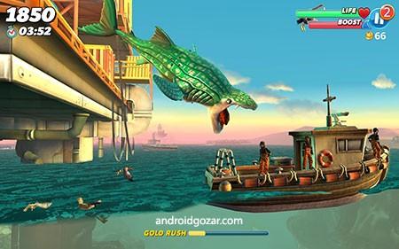 دانلود Hungry Shark World 3.7.0 – بازی دنیای کوسه گرسنه اندروید + مود