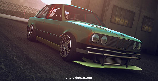 Drift Zone 2 2.4 دانلود شیک ترین بازی مسابقه ماشین سواری دریفت + مود