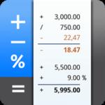 دانلود CalcTape Pro Tape Calculator 6.0.7 ماشین حساب حرفه ای اندروید