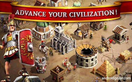 Battle Ages 3.1.2 دانلود بازی استراتژی دوران جنگ اندروید + مود + دیتا