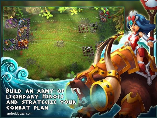 Wartide 0.9.1 دانلود بازی وارتاید: فرماندهی قهرمانان + مود