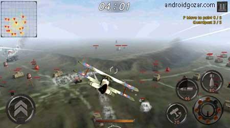 Air Battle: World War 1.0.29 دانلود بازی نبرد هوایی: جنگ جهانی+مود