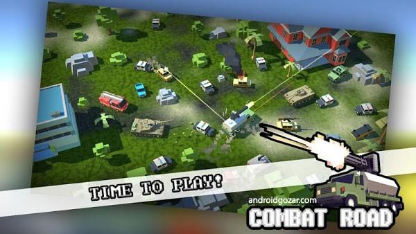 Combat Road 1.0 دانلود بازی تیراندازی اکشن جاده مبارزه + مود