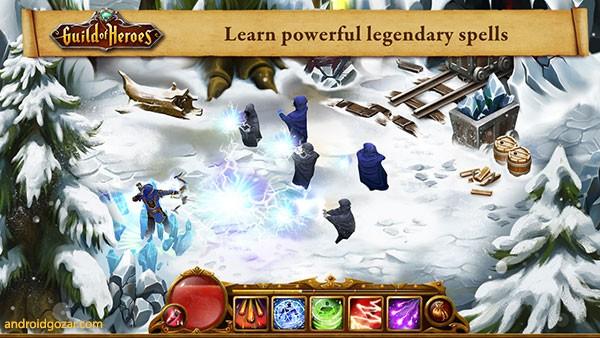 دانلود Guild of Heroes 1.88.5 بازی اتحاد قهرمانان اندروید + مود