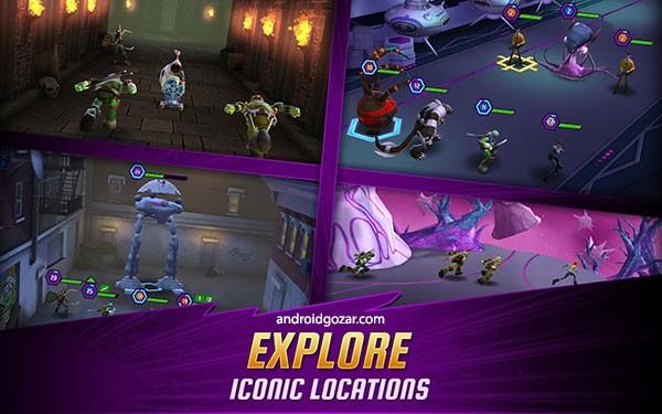 دانلود Ninja Turtles: Legends 1.19.0 – بازی لاک پشت های نینجا اندروید + مود