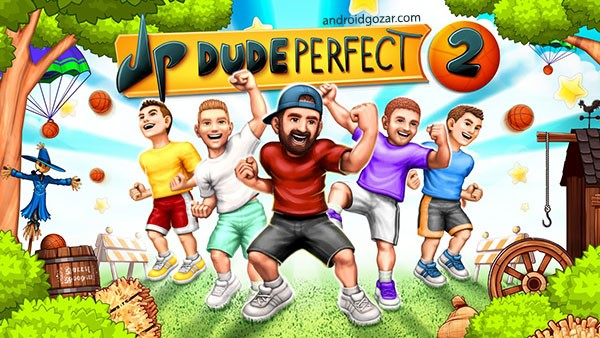 Dude Perfect 2 1.6.1 دانلود بازی بسکتبال کم حجم اندروید + مود