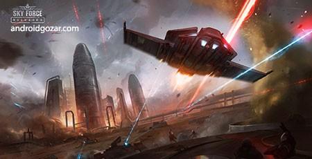 Sky Force Reloaded 1.82 دانلود بازی نیروی هوایی اندروید+مود+دیتا