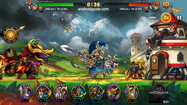 دانلود Seven Guardians 1.2.58 بازی استراتژیک هفت نگهبان اندروید