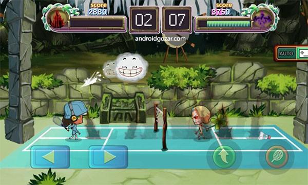 Badminton Star 2.0.076 دانلود بازی ستاره بدمینتون + مود