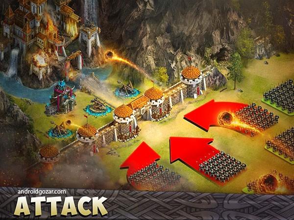 دانلود Citadels 18.0.28 بازی استراتژیک قلعه های دفاعی اندروید