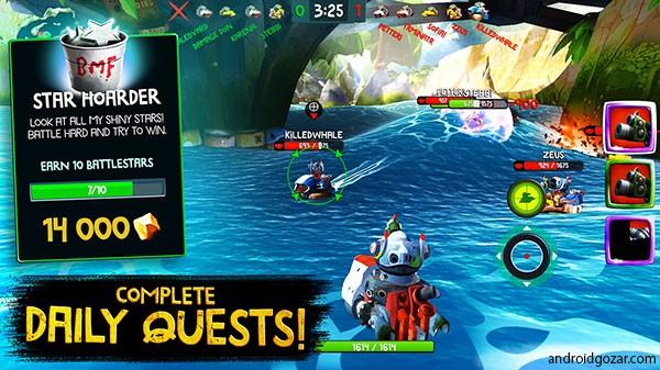 دانلود Battle Bay 4.8.22668 – بازی اکشن خلیج نبرد اندروید + مود