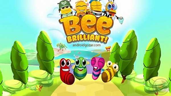 Bee Brilliant 1.65.2 دانلود بازی زنبور عسل زیرک اندروید + مود