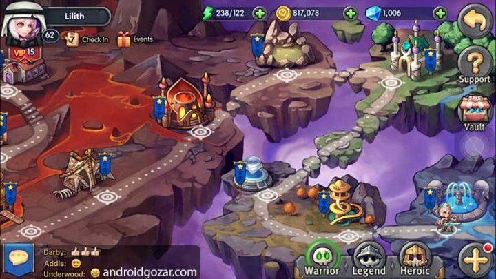 Heroes Tactics 1.6.2 دانلود بازی تاکتیک های قهرمانان اندروید