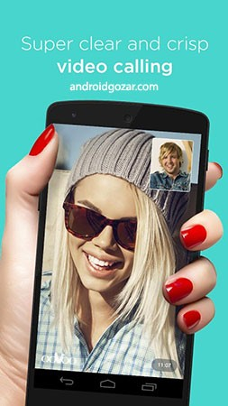ooVoo Video Call, Text & Voice 2.7.0 دانلود نرم افزار تماس صوتی و تصویری اوو