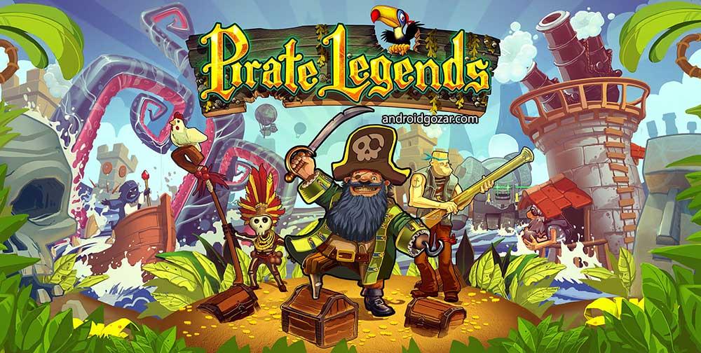 Pirate Legends TD 1.3.14 دانلود بازی افسانه های دزد دریایی + مود + دیتا
