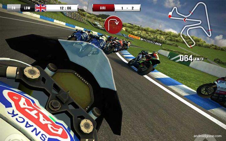SBK16 Official Mobile Game Full 1.4.2 دانلود بازی موتور با گرافیک بالا اندروید + مود + دیتا