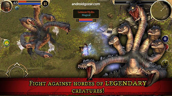 Titan Quest 1.0.17 دانلود بازی اکشن نبرد تایتان ها اندروید + مود