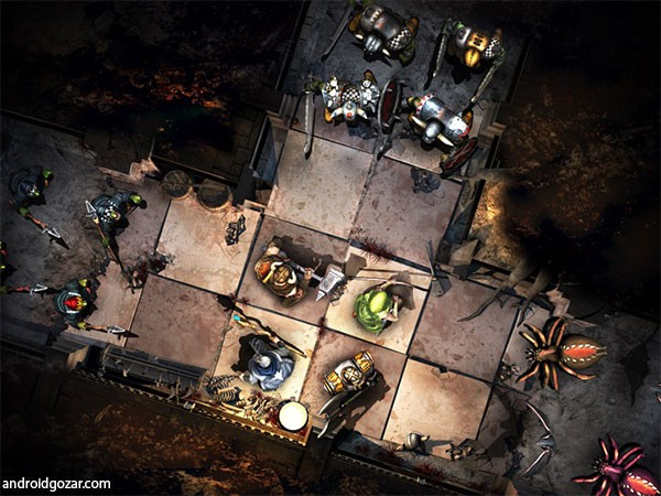 Warhammer Quest 1.2.0 دانلود بازی جنگی و مبارزه ای + مود + دیتا