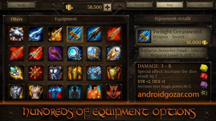 Arcane Quest 3 1.4.1 دانلود بازی ماموریت سری 3 اندروید + مود + دیتا