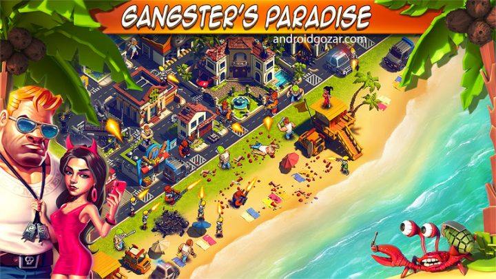 Crime Coast: Gang Wars 300 دانلود بازی ساحل جرم و جنایت اندروید