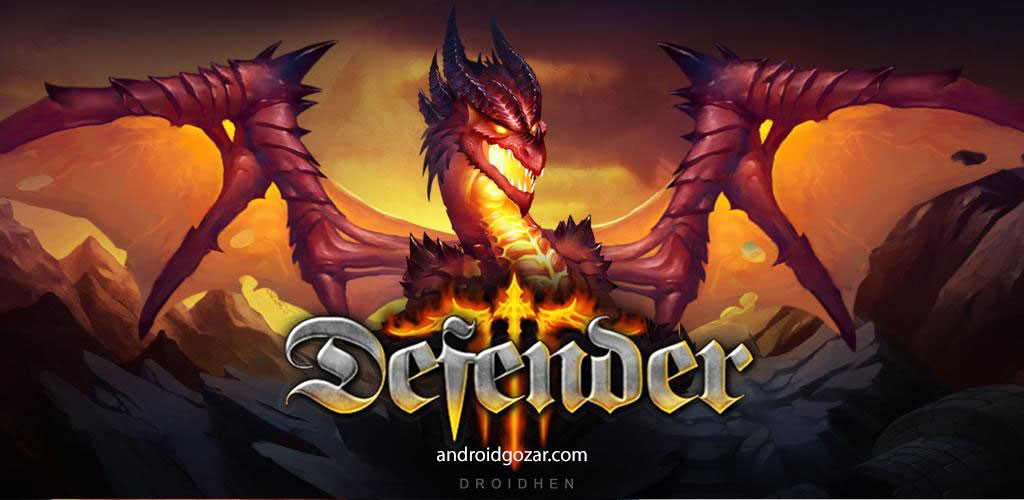 Defender III 2.1.4 دانلود بازی اکشن مدافع 3 اندروید + مود