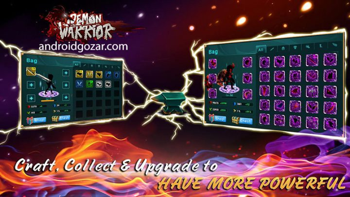 Demon Warrior 6.1 دانلود بازی جنگجوی شیطان اندروید + مود