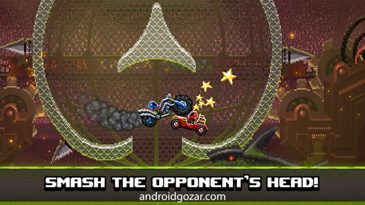 Drive Ahead 1.82 دانلود بازی جنگ ماشین ها اندروید + مود