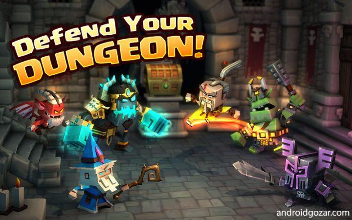 دانلود Dungeon Boss 0.5.15268 بازی رئیس زندان اندروید + مود