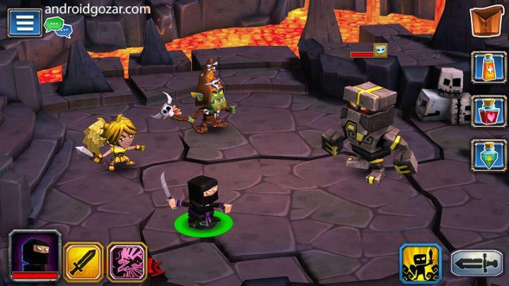 Dungeon Boss 0.5.11741 دانلود بازی رئیس زندان اندروید + مود