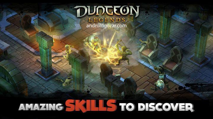 Dungeon Legends 3.21 دانلود بازی افسانه سیاه چال اندروید + مود
