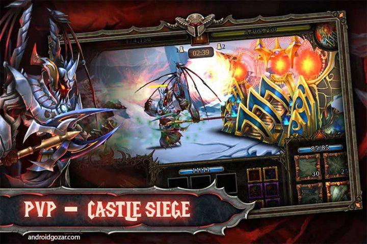 دانلود Epic Heroes War 1.10.2.333 بازی جنگ قهرمانان حماسی اندروید + مود