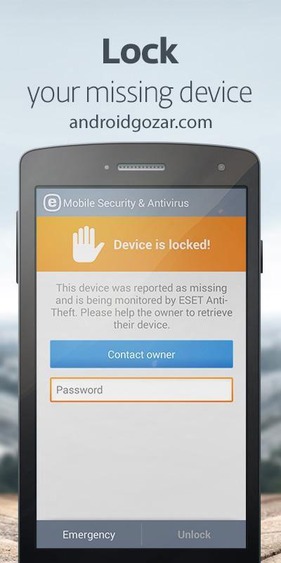 ESET Mobile Security 5.1.29.0 دانلود برنامه آنتی ویروس نود 32 اندروید