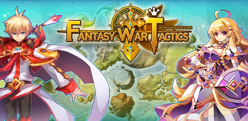 Fantasy War Tactics 0.549 دانلود بازی تاکتیک های جنگ فانتزی اندروید