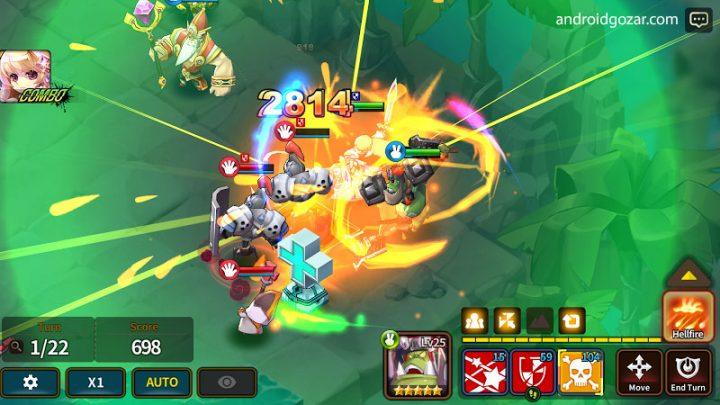 دانلود Fantasy War Tactics 0.595 – بازی تاکتیک های جنگ اندروید