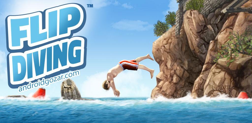 Flip Diving 2.7.0 دانلود بازی شیرجه از صخره اندروید + مود