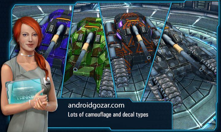 دانلود Iron Tanks 3.12 بازی نبرد تانک های آهنین اندروید