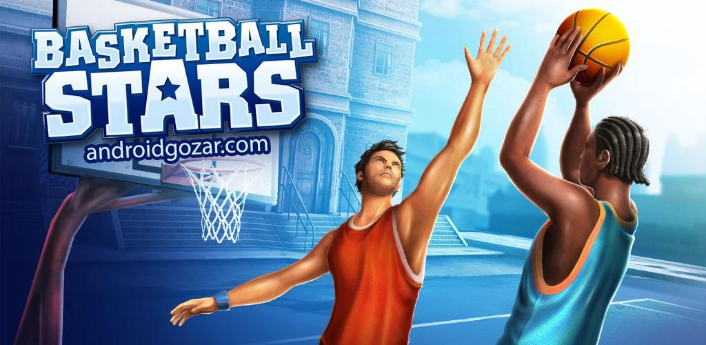 Basketball Stars 1.9.0 دانلود بازی ستاره های بسکتبال اندروید + مود