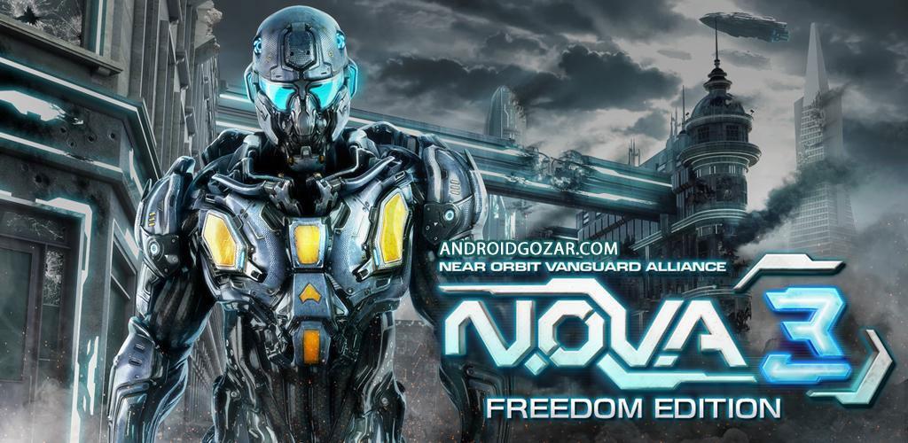 N.O.V.A. 3: Freedom Edition 1.0.1d دانلود بازی تیراندازی اول شخص+مود+دیتا
