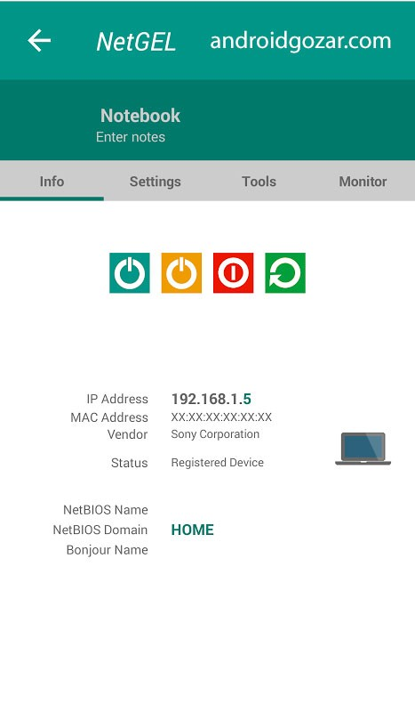 دانلود NetX PRO 8.3.0.0 برنامه مدیریت و قطع افراد متصل به وای فای