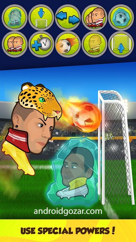Online Head Ball 32.13 دانلود بازی فوتبال هد بال اندروید