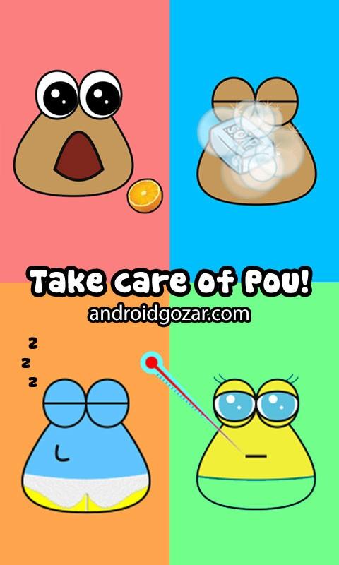 دانلود Pou 1.4.79 – بازی نگهداری از پو اندروید + مود